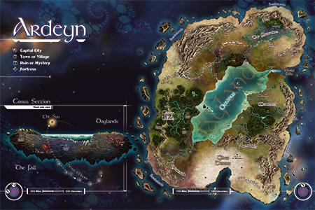 Ardeyn-Map